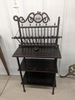 Vintage Stand And Magazine Rack