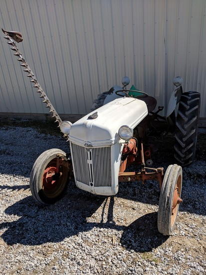 Ford 9N Tractor with Belly Sickle Mower