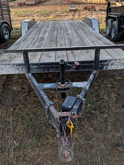 H&H 20ft bumper hitch trailer