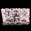 18K Gold 16.51ct Ruby & 8.77ctw Diamond Bracelet