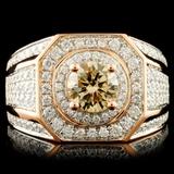 18K Gold 2.14ctw Diamond Ring
