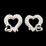 18K Gold 0.16ctw Diamond Earrings