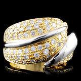 14K Gold 1.88ctw Diamond Ring