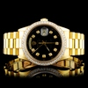 Rolex Day-Date 18K YG Diamond 36MM Watch