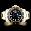 Rolex 18K YG Submariner Men's Watch