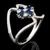 18K White Gold 0.87ct Sapphire & 0.32ctw Diamond R
