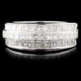 18K Gold 1.69ctw Diamond Ring