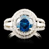 18K Gold 2.56ctw Diamond Ring