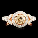 18K Gold 1.71ctw Diamond Ring