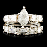 18K Gold 1.63ctw Diamond Ring
