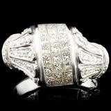 18K Gold 1.44ctw Diamond Ring