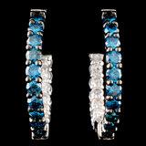 14K Gold 1.48ctw Diamond Earrings