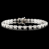18K Gold 1.50ctw Diamond Bracelet