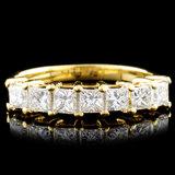 18K Gold 0.81ctw Diamond Ring
