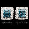 14K Gold 1.33ctw Fancy Color Diamond Earrings