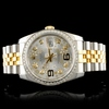 Rolex DateJust 116233 18K YG/SS Diamond 36MM Watch