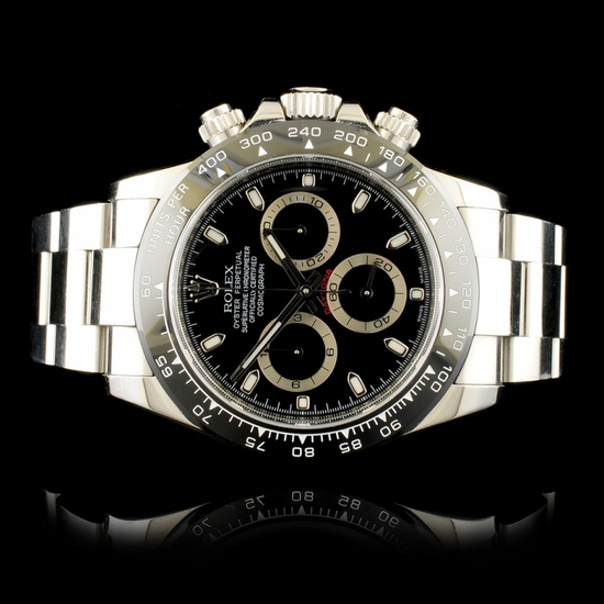 Rolex DAYTONA 116520 Ceramic Tachymeter 40MM Watch