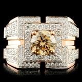 18K Gold 2.25ctw Diamond Ring