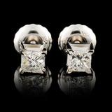 14K Gold 0.29ctw Diamond Earrings