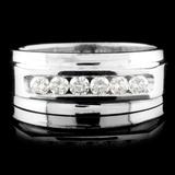 14K Gold 0.42ctw Diamond Ring