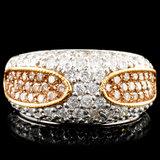 14K Gold 1.66ctw Diamond Ring
