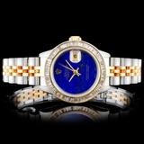 Rolex YG/SS DateJust 2.00ct Diamond Ladies Watch