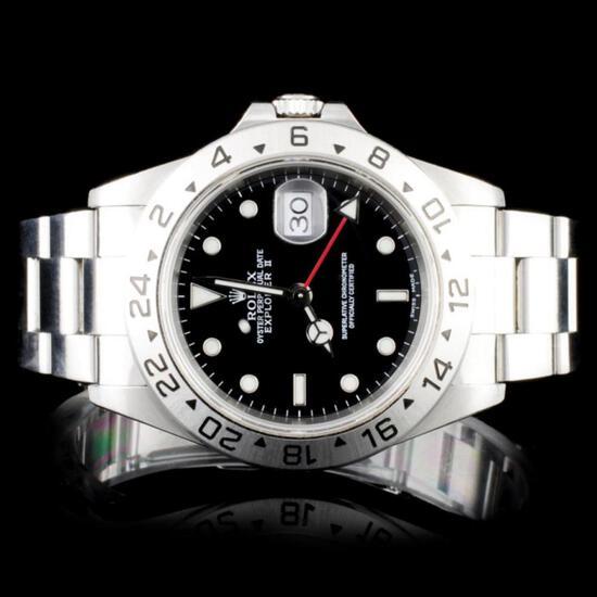 Rare Diamond 18K Jewelry & Certified Rolex Watches