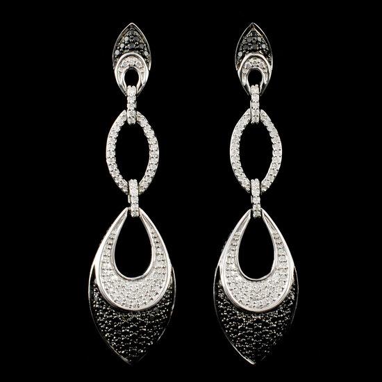 14K Gold 1.67ctw Diamond Earrings