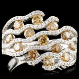 14K Gold 1.57ctw Diamond Ring