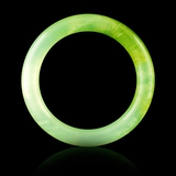 Chinese Fine Jadeite Green Bangle