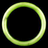Chinese Fine Nephrite Jade Green Bangle