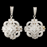 14K Gold 1.68ctw Diamond Earrings