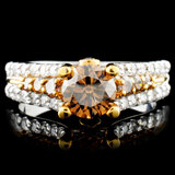 14K Gold 1.64ctw Diamond Ring