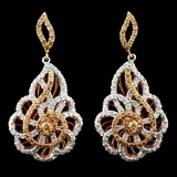 14K Gold 1.71ctw Diamond Earrings