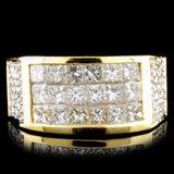 18K Gold 2.79ctw Diamond Ring