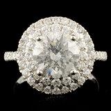 18K Gold 2.73ctw Diamond Ring