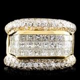 18K Gold 2.60ctw Diamond Ring