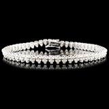18K Gold 2.25ctw Diamond Bracelet
