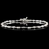 18K Gold 0.35ctw Diamond Bracelet