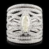 14K Gold 2.58ctw Diamond Ring