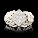 14K Gold 2.64ctw Diamond Ring