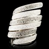 14K Gold 2.69ctw Diamond Ring