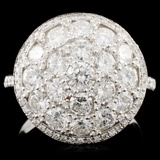 14K Gold 2.16ctw Diamond Ring