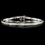 14K Gold 1.98ctw Diamond Bracelet