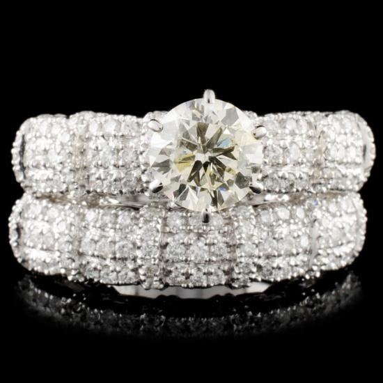 18K Gold 1.92ctw Diamond Ring
