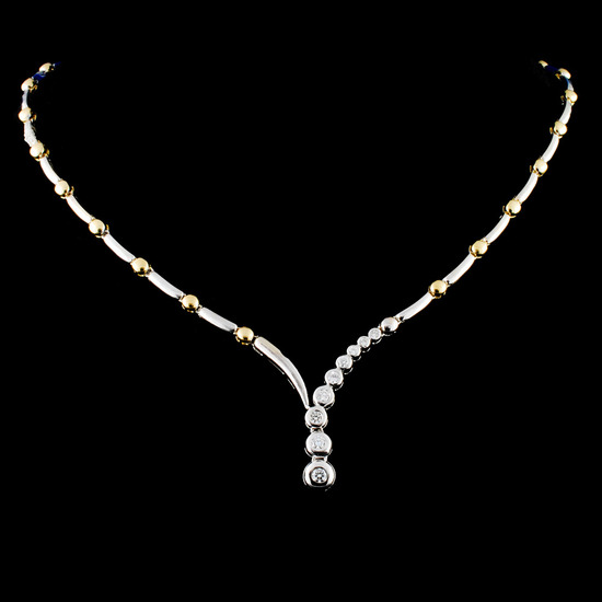14K Gold 0.46ctw Diamond Necklace