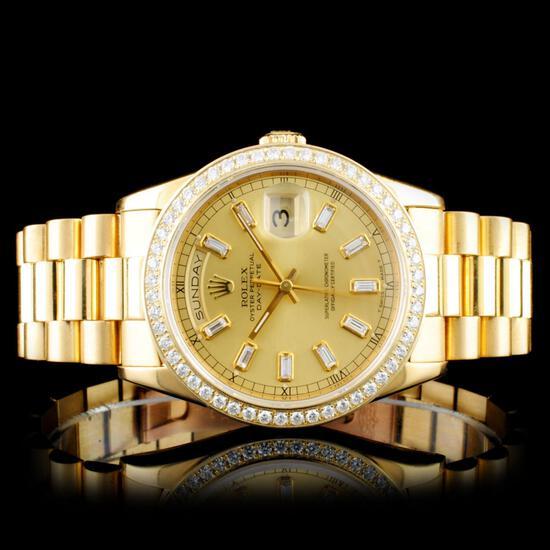 EMERALD & SAPPHIRE NECKLACES & Rolex Watches Event