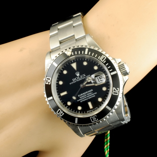 Diamond Jewelry & Submariner Rolex Watch Event