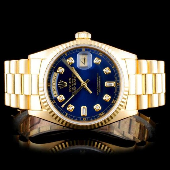LEAP YEAR Auction Diamonds & Rolex Watches Event