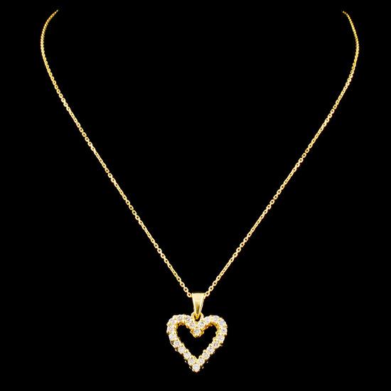 18K Gold 0.31ctw Diamond Pendant